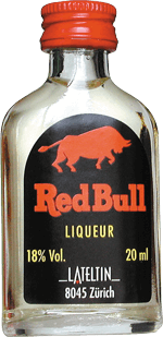 Red Bull mit Guarana 20ml - Lateltin