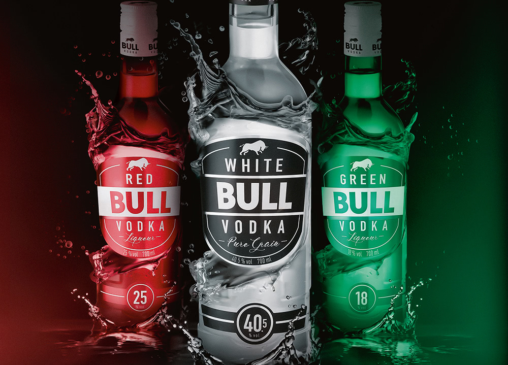 Bull Vodka Marke - Lateltin